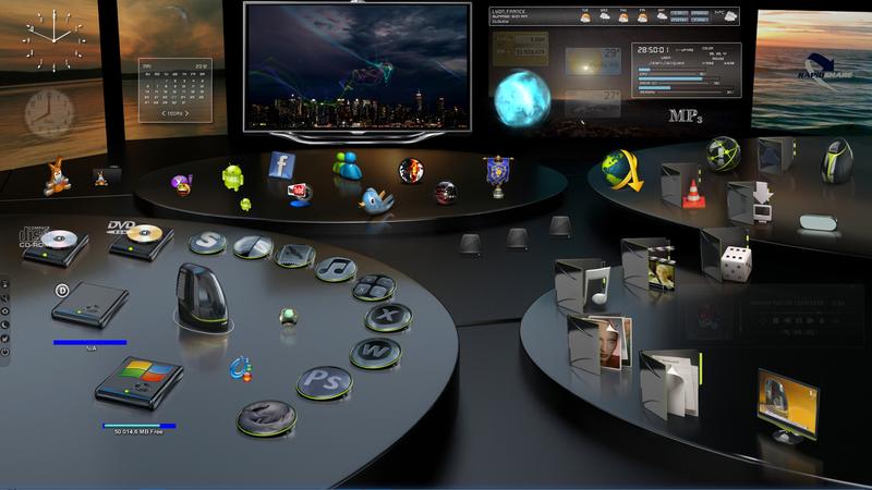48 thèmes visuels windows 7 officiels gratuits protuts. Net.